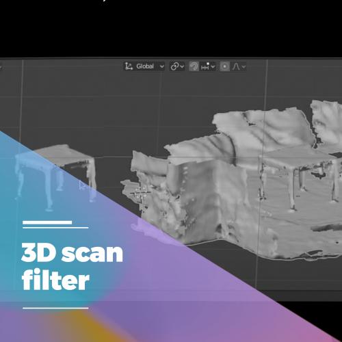 3d scan filter